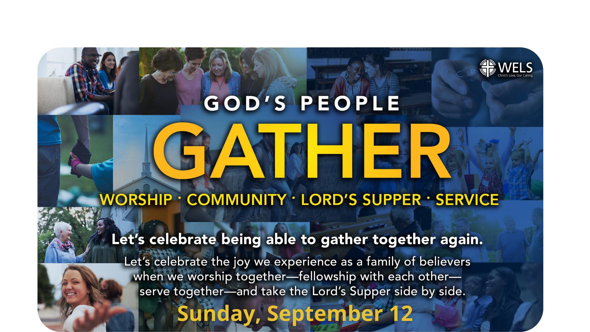 God's People Gather